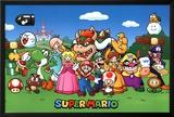 Super Mario - Characters Prints