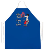 Give This Guy A Beer Apron Apron