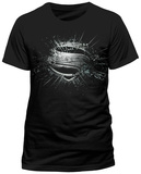 Superman: Man Of Steel - Erroded T-Shirts