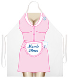 Mom'S Diner Apron Delantal