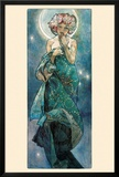 The Moon Posters by Alphonse Mucha