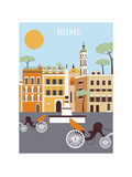 Rome City. Vector Posters by  Ladoga