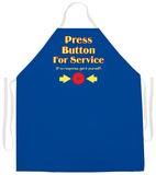 Press Button Apron Apron