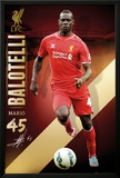 Liverpool Ballotelli 14/15 Print