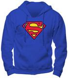 Sudadera: Superman, logotipo Sudadera con capucha