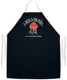 A Man And His Grill Apron Apron