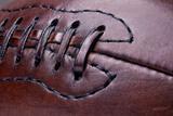 Leather Vintage Football Fotografisk trykk av  tiero