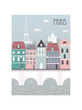 Paris City. Prints by  Ladoga