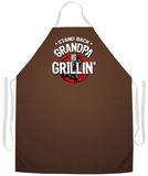 Grandpa Is Grillin Apron Forkle