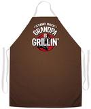 Grandpa Is Grillin Apron Apron