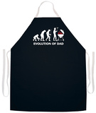 Evolution Of Dad Apron Grembiule