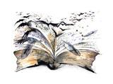 Book Giclée-Premiumdruck von  okalinichenko