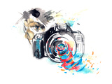 Photo Camera Prints by  okalinichenko