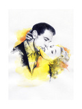 Kiss Poster by Anna Ismagilova