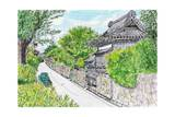 Hagi Horiuchi, Town in Japan Prints by  ????