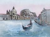 Italy Print by  okalinichenko