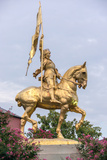 Joan of Arc Statue in New Orleans. Photographic Print by  starryvoyage