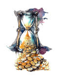 Time is Money Prints by  okalinichenko