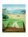 Magic Book and Eco Concept Art by  adimas
