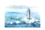 Lighthouse Prints by  okalinichenko