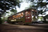 Streetcar New Orleans Garden District Photographic Print by  LazyLlama