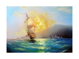 Seascape Harbor Posters by  yakymenko