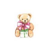 Teddy Bear Poster by Anna Ismagilova