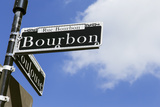 Bourbon Street Sign in New Orleans Photographic Print by Todd Taulman