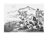 Chinese Painting Landscape Prints by  jim80