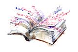 Book Print by  okalinichenko