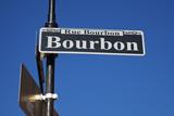 Famous Bourbon Street Photographic Print by Henryk Sadura