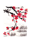 Chinese Painting Blossom Prints by  jim80