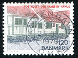 Post Office Old Town in Aarhus Fotografisk trykk av  rook76