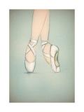 Dancing Ballerina Prints by Anna Ismagilova