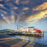 New Orleans. Famous Bateaux on Mississippi River Photographic Print by  jovannig