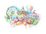 Carousels Poster by  okalinichenko