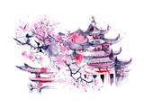 Japon Affiches par  okalinichenko