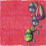 Decoration of Eggs Balloons for Easter Poster af  tannene