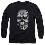 Long Sleeve: Terminator - Skull Shirts