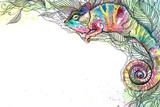 Chameleon Kunst von  okalinichenko