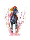 Horseman Poster von  okalinichenko
