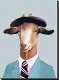 Goat Impressão em tela esticada por  Animal Crew