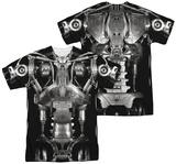 Terminator - Endoskeleton Costume (Front - Back Print) Tshirts