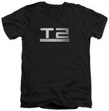 Terminator 2 - Logo V-Neck Shirts