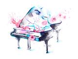 Muziek Print van  okalinichenko