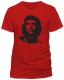 Che Guevara - Red Face T-Shirt