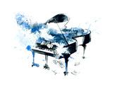 Piano Poster van  okalinichenko