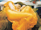 Flaming June by Lord Frederic Leighton 1000 Piece Puzzle Jigsaw Puzzle