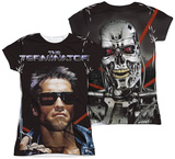 Juniors: Terminator - Poster (Front - Back Print) T-shirts