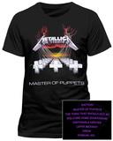Metallica - Master of Puppets Koszulki